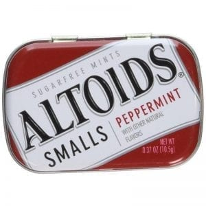 Altoids Sugar Free Peppermint 10,5g