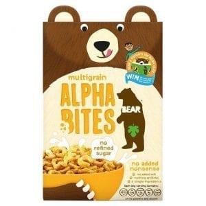 Bear Multigrain Alpha Bites 350g
