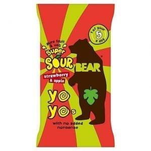 Bear Yoyo Sour Strawberry 20g