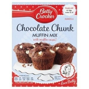 Betty Crocker Chocolate Muffin Mix 335g