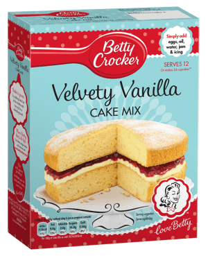 Betty Crocker Vanilla Cake Mix 425G