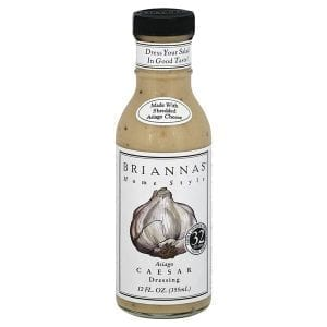 Briannas Asiago Caesar Dressing 355ml