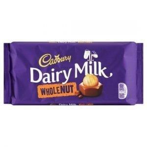 Cadbury Wholenut 200g