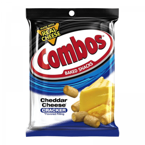 Cheddar Cheese Cracker Combos 178,6g