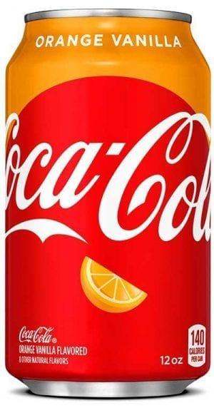 Coca Cola Orange Vanilla 355ml