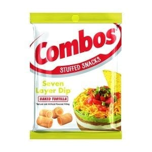 Combos Seven Layer Dip Baked Tortilla 178,6g