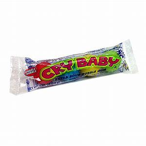 Cry Baby Extra Sour Bubble Gum (4pc) 18g