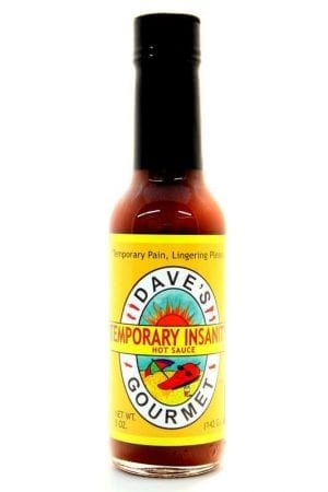 Dave's Gourmet Temporary Insanity Hot Sauce 148ml