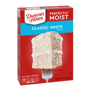 Duncan Hines Classic White Cake Mix 432g