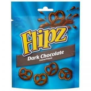 Flipz Dark Chocolate 100g