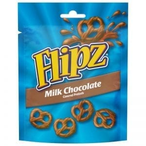 Flipz Milk Chocolate 100g