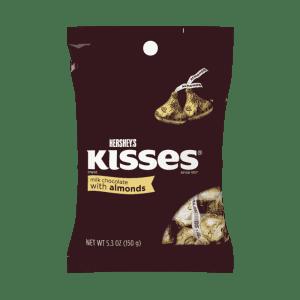 Hershey's Kisses Almonds 150g
