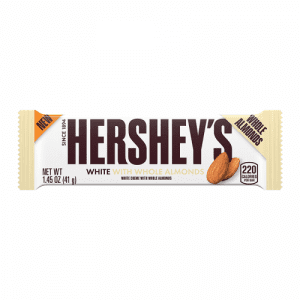 Hershey's White with Whole Almonds 41 g