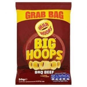 Hula Hoops Big Hoops BBQ Beef 50g