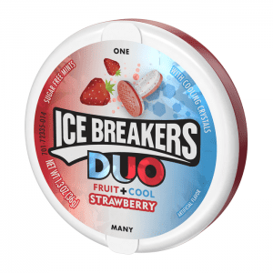 Ice Breakers Duo Fruit + Cool Strawberry 36g