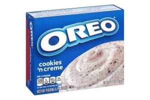Jello Oreo Cookies 'n Creme Pudding & Pie Filling 119g