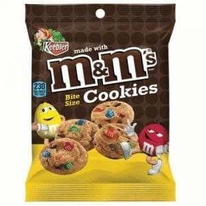 M&M's Bite Size Cookies 45g