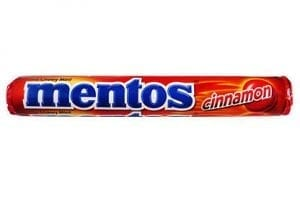 Mentos Cinnamon 37,5g