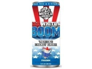 'Merica Energy Red, White & Boom Freedom 480ml