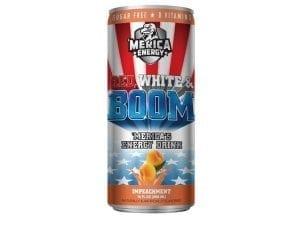 'Merica Energy Red, White & Boom Impeachment 480ml