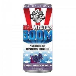 'Merica Energy Red, White & Boom Let's Make 'Merica Grape Again 480ml