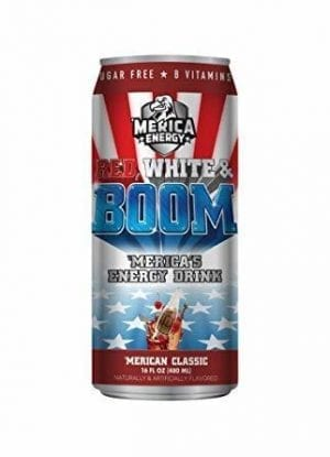'Merica Energy Red, White & Boom 'Merican Classic 480ml