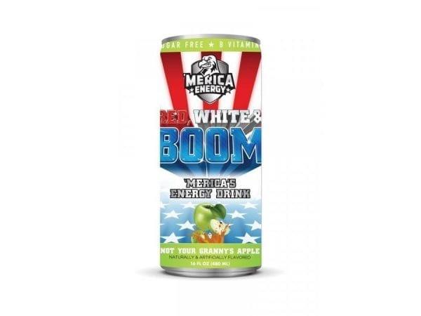 'Merica Energy Red, White & Boom Not Your Granny's Apple 480ml