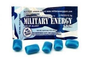 Military Energy Gum Arctic Mint 12,5g