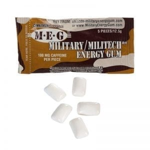 Military Energy Gum Cinnamon 12,5g