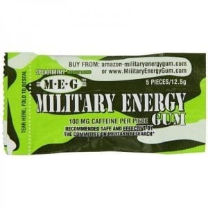 Military Energy Gum Spearmint 12,5g