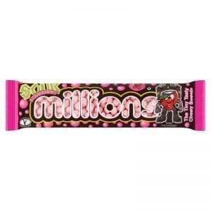 Millions Sour Strawberry 45g