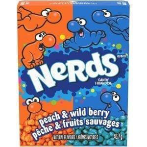 Nerds Peach & Wild Berry 46,7 g