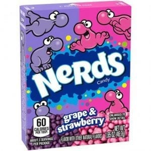 Wonka Nerds Strawberry Grape 46,7 g