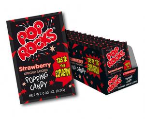 Pop Rocks Strawberry 9,5g