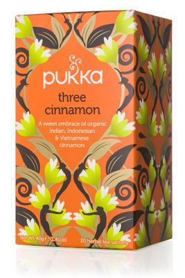 Pukka Three Cinnamon 20s 40g