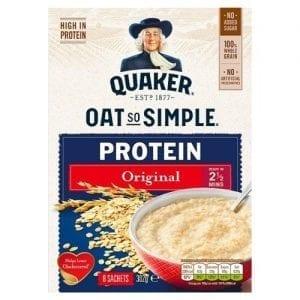 Quaker Oat So Simple Protein Original Porridge 8×37,7g