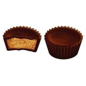 Reeses 2 Dark Peanut Butter Cups 39g