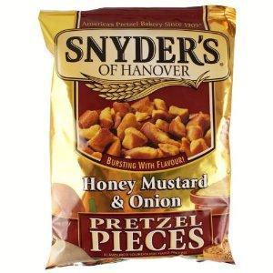 Snyder's Pretzels Honey Mustard & Onion 125g