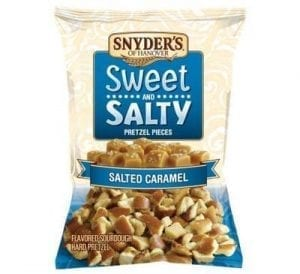 Snyders Sweet and Salty Salted Caramel 100g