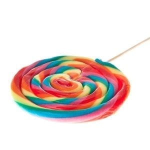 Felko Spiral Pop Normal Rainbow 80g