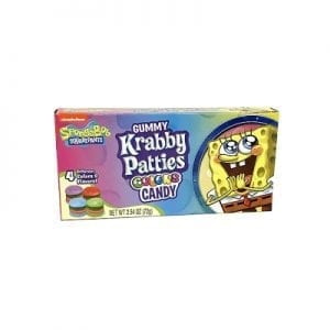 Spongebob Squarepants Krabby Pattie 72g