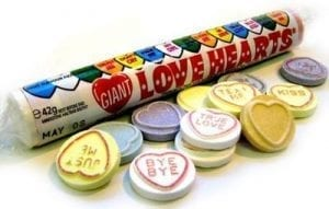 Swizzles Giant Love Hearts 39g