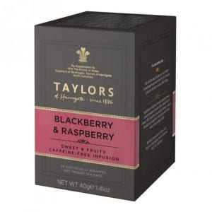 Taylors of Harrogate Blackberry & RaspberryTea 20ks 40g