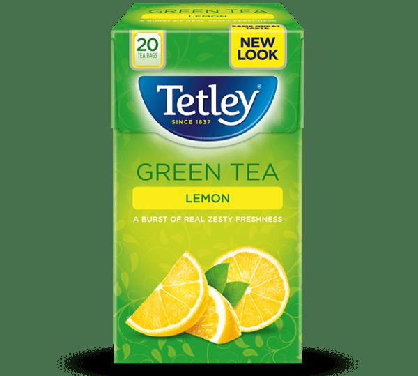 Tetley Green Lemon Tea Bags 20s