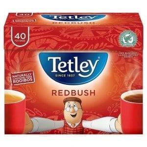 Tetley Herbal Redbush Tea 40 sáčkov 100g