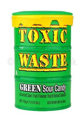 Toxic Waste Green Drum Extreme Sour 42g