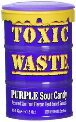 Toxic Waste Purple Drum Extreme Sour 42 g