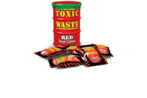 Toxic Waste Red Sour Candy 42g