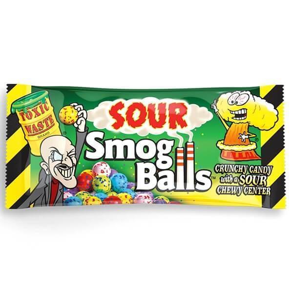 Toxic Waste Sour Smog Balls 48g