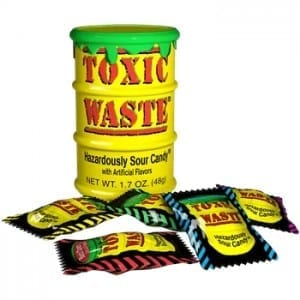 Toxic Waste Sour Yellow Drum 42g